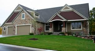 exterior design beige hardie plank siding and front doors for wonderful exterior design with hardie plank siding and bricked wall plus beauty garden for home ideas