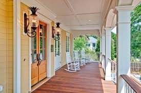 Front Porches On Colonial Homes Sumptuous Hinkley Lighting In Kitchen Traditional With White Ice