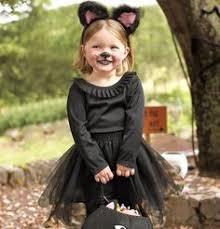 Black Kitty Halloween Costume Child Tutu Black Cat Costume Girls Kitten Costumes Size