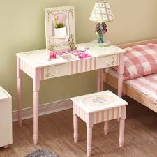 Vanity And Stool Set Bouquet Kids Vanity Table And Stool Set Fantasy Fields Official
