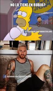 Memes Sobre Messi - lionel messi se pintó el cabello de rubio memes