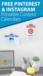 House Beautiful Editorial Calendar Free Download 2016 Pinterest U0026 Instagram Content Calendar Free