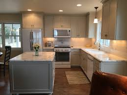 kitchen paint colors that go with honey oak trim purple gray