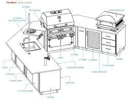 Best  Outdoor Kitchen Plans Ideas Only On Pinterest Outdoor - Outdoor kitchen cabinets plans