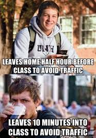 College Guy Meme - the difference between a college freshman and senior meme guy