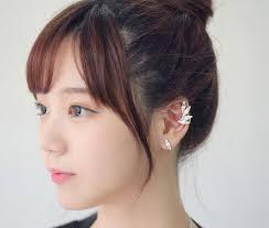 jual ear cuff popular wing earring cuff buy cheap wing earring cuff lots from