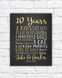 10 year anniversary gift ideas for husband 10 year anniversary gifts 10th anniversary personalized map of
