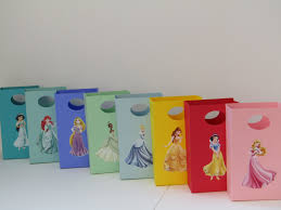 princess candy bags 8 disney princesses party favor bag candy bag treat bag