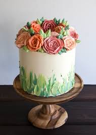 flower cakes buttercream flower cakes are a delicious way to welcome