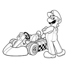 20 free printable super mario coloring pages