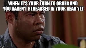 Sweating Meme - sweating bullets meme generator imgflip