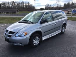 2003 dodge grand caravan sport stock 8422 wheelchair van for