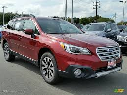 subaru outback 2017 interior 2017 venetian red pearl subaru outback 3 6r limited 115992180