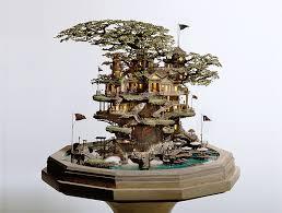 takanori aiba s gorgeous bonsai tree castles