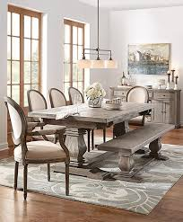 Distressed Pedestal Dining Table Distressed Pedestal Dining Table Room The Most White And Chairs