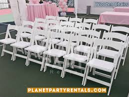 party rentals san fernando valley wooden folding chair white wooden padded chair rentals