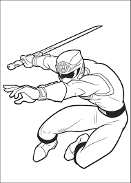 power ranger coloring pages super samurai red coloringstar