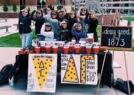 The Blind Onion Pizza Philanthropy Events Delta Gamma At University Of Nevada Reno