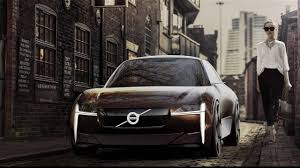 volvo electric car volvo tiny electric city car youtube
