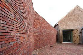 house lens rabbit hole brick house by lens ass architecten yellowtrace