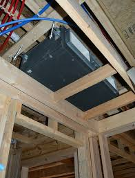 mini concealed what do ducted mini splits look like lg squared archi techs