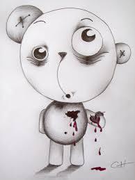 psycho bear u0027broken heart u0027 by charlieherbs on deviantart
