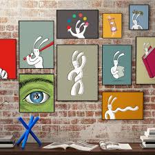 art on wall bix art u2013 bix the rabbit