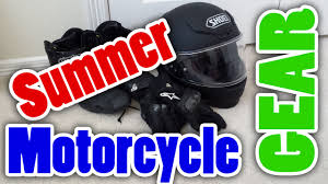 motorcycle protective gear best summer motorcycle gear youtube