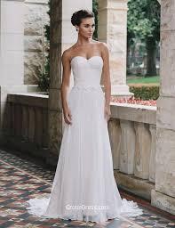summer wedding dresses vintage chiffon lace summer wedding dress strapless sweetheart