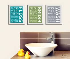 wall art ideas design printable text art for bathroom wall