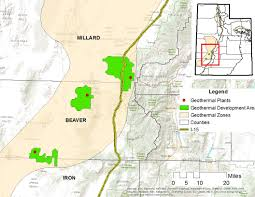 Counties In Utah Map by Resource Profile Geothermal Energy In Utah Office Of