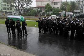 Big Booty Guyanese - randolph holder buried in guyana as nypd officers honor fallen