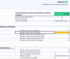ar report template 2 remarkable qa daily status report templates free
