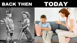 Meme Kids - meme shows difference between kids then kids today