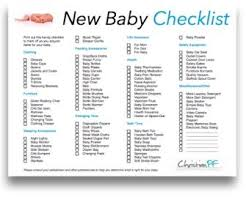 bridal registry checklist printable 20 best baby to buy list images on baby registry