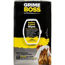 Home Depot Pro Extra by Grime Boss 60 Count Hand Wipes M956s8x The Home Depot