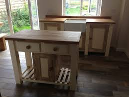 Bespoke Kitchen Islands Handcrafted Rustic Oak Kitchen Furniture