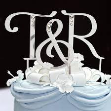 wedding cake toppers letters swarovski letter cake topper wedding cake wedding and