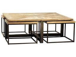 Ikea Nesting Tables by Furniture Drayton Nesting Coffee Table With Black Iron Cast
