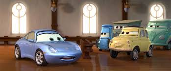 cars sally and lightning mcqueen pixar animation studios