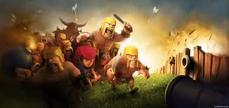 wallpaper coc keren for android clash of clans wallpapers wallpaper cave