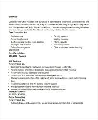 Office Administrator Resume Examples by Administration Resume Examples 28 Free Word Pdf Documents