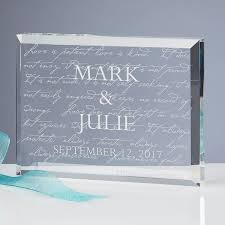 engraved wedding gift top 10 engraved wedding gifts for any budget