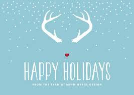 happy holidays from mind merge design mind merge design