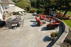 Backyard Stamped Concrete Ideas Stamped Concrete Concreteideas