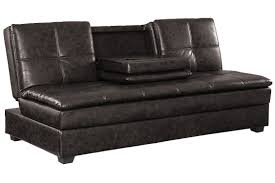 Large Leather Sofa Brown Leather Convertible Sofa Bed Kingsley Serta Sofa