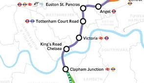 Chelsea Map Crossrail 2 Four Homes Hotspots From Clapham To Enfield On