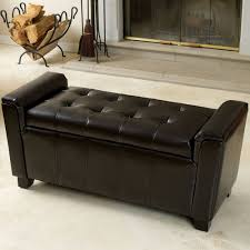 ottoman bench with arms storage bench with arms stylish ottoman home design ideas 25