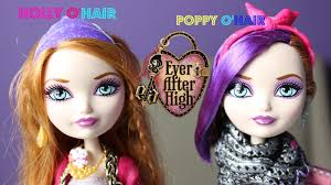 after high dolls names after high o hair poppy o hair doll review