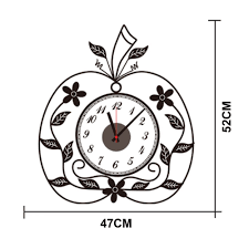 online buy wholesale apple wall clock from china apple wall clock